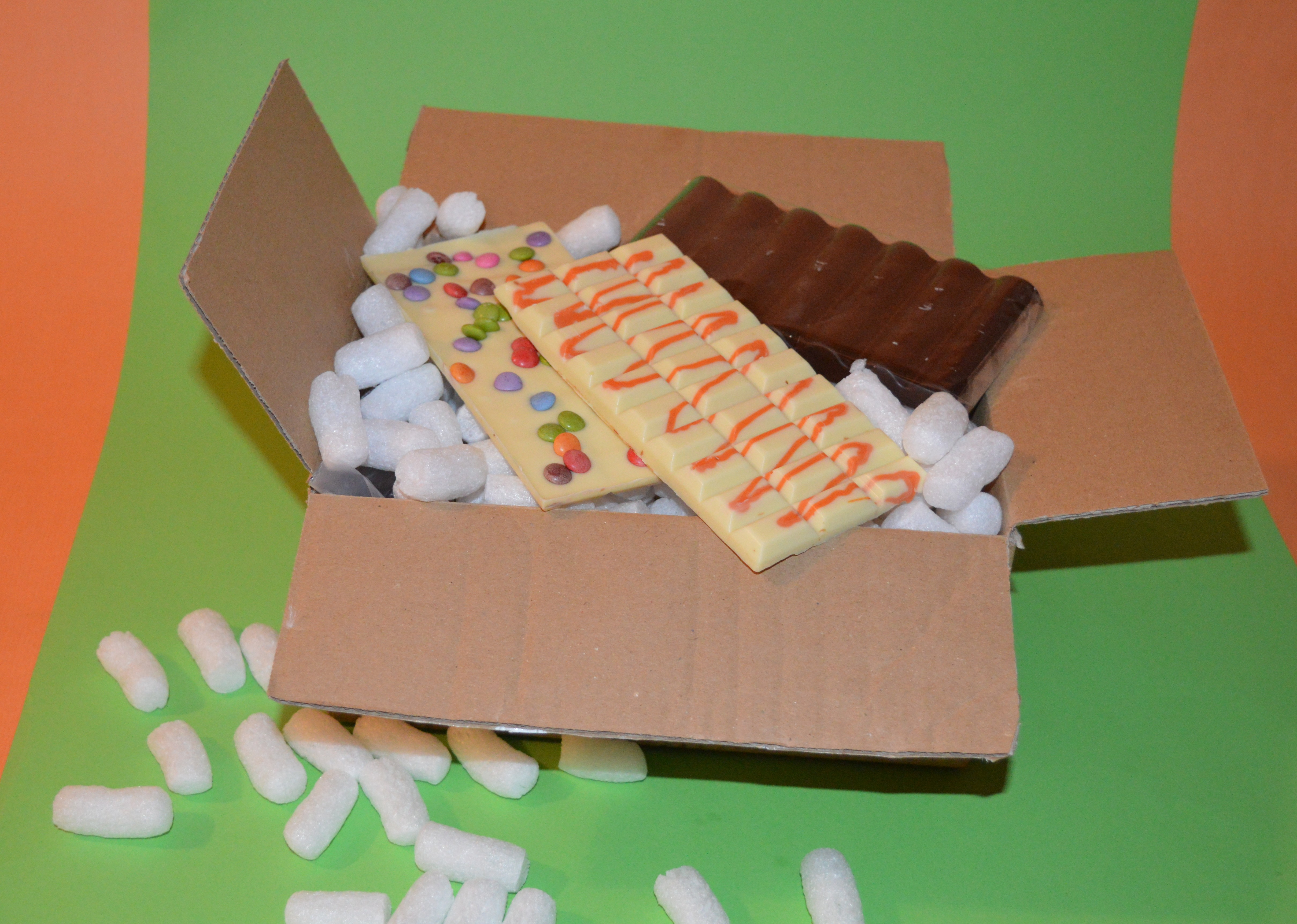 Schokolade-Versand