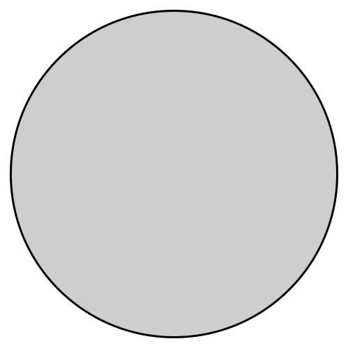 Essbares Fotobild Kreis 5cm