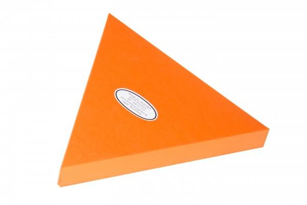 Geschenkverpackung - Feinste Pralinen Dreieck