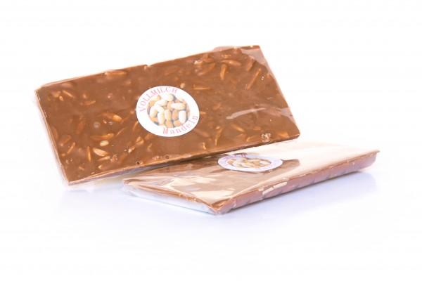 Vollmilch Mandeln Schokolade